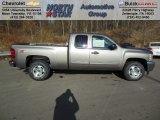 2013 Graystone Metallic Chevrolet Silverado 1500 LT Extended Cab 4x4 #74095475