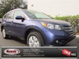 2013 Twilight Blue Metallic Honda CR-V EX-L #74095240