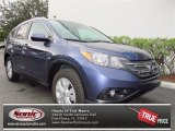 2013 Twilight Blue Metallic Honda CR-V EX-L #74095239