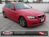 2008 Crimson Red BMW 3 Series 328i Sedan #74095472