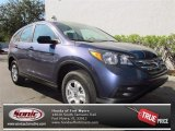 2013 Twilight Blue Metallic Honda CR-V LX #74095238