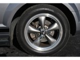 2006 Ford Mustang V6 Premium Convertible Wheel