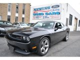 2011 Brilliant Black Crystal Pearl Dodge Challenger R/T Plus #74095955