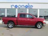 2012 Deep Cherry Red Crystal Pearl Dodge Ram 1500 Big Horn Crew Cab 4x4 #74095468