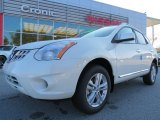 2013 Pearl White Nissan Rogue SV #74095576