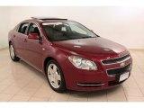 2008 Red Jewel Tint Coat Chevrolet Malibu LT Sedan #74095823