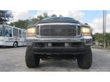2002 Oxford White Ford F250 Super Duty Lariat Crew Cab 4x4 #74095787