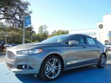 2013 Sterling Gray Metallic Ford Fusion Titanium #74095411