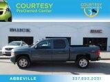 2009 Blue Granite Metallic Chevrolet Silverado 1500 LTZ Crew Cab #74095993