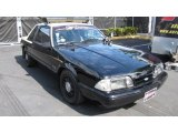 1992 Ford Mustang LX 5.0 Police Interceptor Coupe Data, Info and Specs