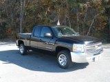 2012 Black Chevrolet Silverado 1500 LT Extended Cab #74095917