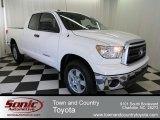 2013 Super White Toyota Tundra Double Cab #74095765