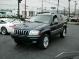 2002 Patriot Blue Pearlcoat Jeep Grand Cherokee Limited 4x4 #7389043