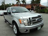 2010 Ingot Silver Metallic Ford F150 Lariat SuperCrew #74156948