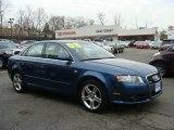 2008 Ocean Blue Pearl Effect Audi A4 2.0T quattro Sedan #74157077