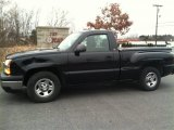2004 Black Chevrolet Silverado 1500 Regular Cab #74157210