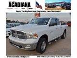 2010 Stone White Dodge Ram 1500 Big Horn Quad Cab 4x4 #74157069