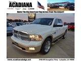 2011 Bright White Dodge Ram 1500 Laramie Longhorn Crew Cab #74157068