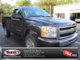 2011 Taupe Gray Metallic Chevrolet Silverado 1500 LS Regular Cab #74156667