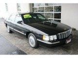 1997 Raven Black Cadillac DeVille Sedan #74156938