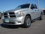 2012 Bright Silver Metallic Dodge Ram 1500 Express Quad Cab 4x4 #74156790