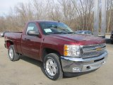 2013 Chevrolet Silverado 1500 Deep Ruby Metallic