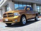 2012 Tequila Sunrise Pearl Dodge Ram 1500 Sport Crew Cab 4x4 #74156784