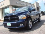 2012 True Blue Pearl Dodge Ram 1500 Express Quad Cab 4x4 #74156783