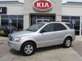 2009 Bright Silver Kia Sorento LX 4x4 #7396315