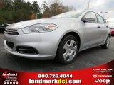 2013 Bright Silver Metallic Dodge Dart SE #74157047