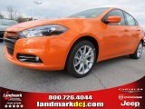 2013 Header Orange Dodge Dart Rallye #74157035