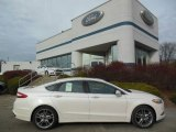 2013 White Platinum Metallic Tri-coat Ford Fusion Titanium AWD #74156769