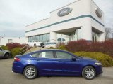 2013 Deep Impact Blue Metallic Ford Fusion SE 1.6 EcoBoost #74156768