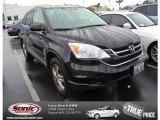 2010 Crystal Black Pearl Honda CR-V EX #74157176