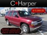 2005 Sport Red Metallic Chevrolet Tahoe LT 4x4 #74156633
