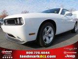 2013 Bright White Dodge Challenger SXT #74157020