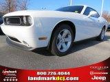 2013 Bright White Dodge Challenger SXT #74157015