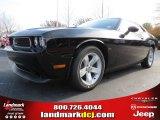 2013 Pitch Black Dodge Challenger SXT #74157013