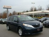 2012 South Pacific Pearl Toyota Sienna LE #74157146