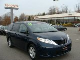 2012 South Pacific Pearl Toyota Sienna LE #74157145