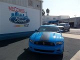 2013 Grabber Blue Ford Mustang Boss 302 #74156873