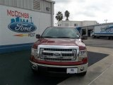 2013 Ruby Red Metallic Ford F150 XLT SuperCrew #74156871