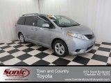 2012 Silver Sky Metallic Toyota Sienna LE #74157271