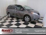 2012 Predawn Gray Mica Toyota Sienna LE #74157270