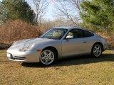 1999 Arctic Silver Metallic Porsche 911 Carrera 4 Coupe #74157263