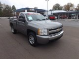 2008 Graystone Metallic Chevrolet Silverado 1500 LS Regular Cab #74157391
