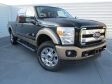 2012 Green Gem Metallic Ford F250 Super Duty King Ranch Crew Cab 4x4 #74157125