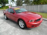 2011 Red Candy Metallic Ford Mustang V6 Coupe #74157248