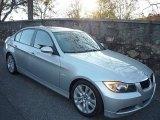 2006 Titanium Silver Metallic BMW 3 Series 325i Sedan #734162
