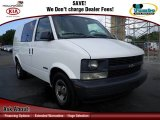 2001 Ivory White Chevrolet Astro Commercial Van #74217881